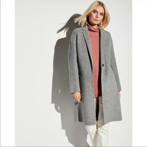 New With Tags Vince Modern Wool Coat